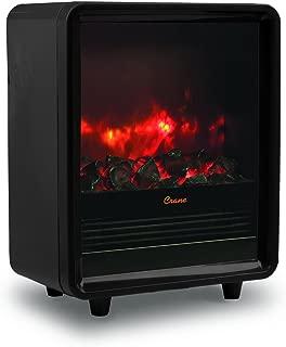 Crane Fireplace Heater, Black