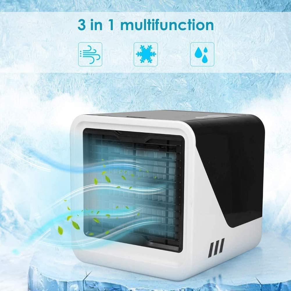 MXA Aire Acondicionado 3-en-1 Mini Ventilador USB humidificador de ...