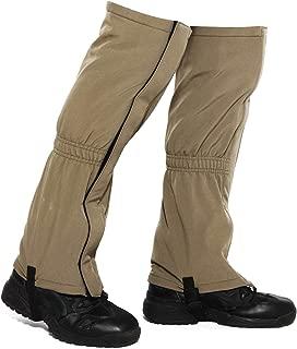 MERFUNTO Leg Gaiters for Hiking Waterproof Snow Gaiters for Winter