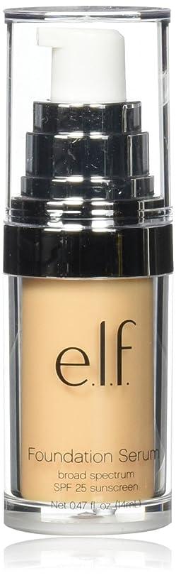 あそこ誘導優先e.l.f. Beautifully Bare Foundation Serum - Fair / Light (並行輸入品)