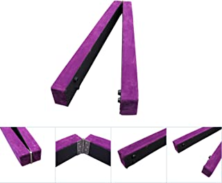 Bestmart INC 7' Sectional Gymnastics Floor Balance Beam Skill Performance Training Folding