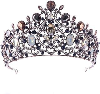 FELICILII Corona Barocco Corona Copricapo Corona Gioielli da Sposa Principessa Corona