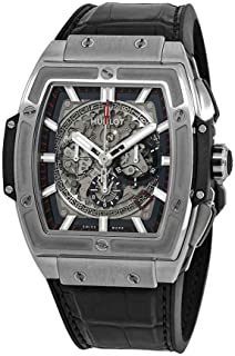 Hublot Spirit of Big Bang Titanium Automatic Mvmt Skeleton Dial Mens Watch 601.NX.0173.LR