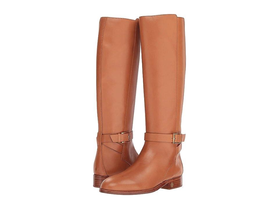 Tory Burch Brooke 25mm Knee Boot (Tan) Women