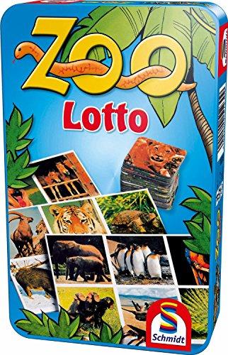 SCHMIDT SPELE MBS Zoo Lotto metalen doos 4001504512309