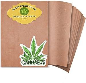 Parchment Paper Sheets Heating Press Paper Food-Grade Heat Press Paper Pre-cut 100 Sheets (8