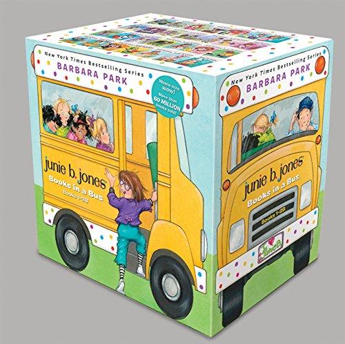 Junie B. Jones Books in a Bus: Books 1-28