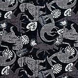 MAGAM-Stoffe Dino-Bande Jersey Kinder Stoff Oeko-Tex