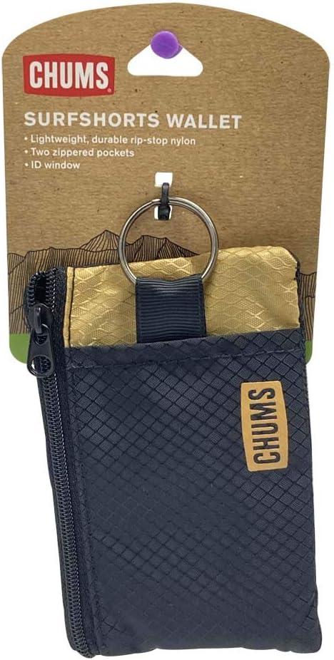 Chums Original Surfshort Wallet Tan Durable Rip-Stop Nylon