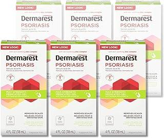 Dermarest Psoriasis Medicated Treatment Gel, 24 Fl Oz (Pack of 6)