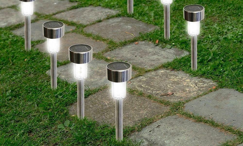 Kosoree 24PCS Outdoor Solar Power St Landscape Max 66% OFF Max 63% OFF Lights Garden LED