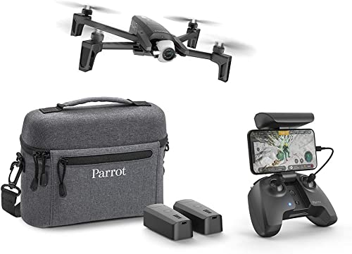 los clientes primero Parrojo Anafi Anafi Anafi Extended - Paquete de Drone con 2 baterías adicionales, Bolsa de Transporte y hélices (cámara HDR 4K, Gimbal Giratorio de 180°) Color negro  diseñador en linea