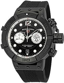 Swiss Legend Triton Chronograph Black Dial Men's Watch SL-10719SM-BB-01-SA