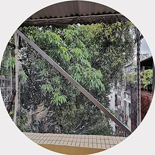 ZHANWEI Lona Impermeable Transparente, 0,5 Mm Espesar CLORURO DE POLIVINILO Transparente Vidrio, Perrera Balcón Pabellón...