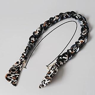 SKREOJF Bricolage neuf fashion femme sac à main accessoire chaîne en soie résine détachable bandoulière solide femme d'emb...