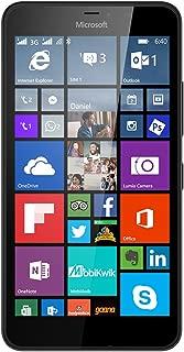 Microsoft Lumia 640 XL LTE Dual Sim Black 8GB (RM-1096) Unlocked international model- no warranty