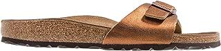 Birkenstock Madrid, Women's Fashion Sandals, Copper, 39 EU