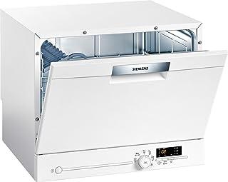 Siemens 西门子 SK26E221EU iQ300 speedMatic 精巧-洗碗机/A+/6 MGD/可变速/超干燥/ 测量帮助/aquaStop/白色