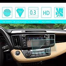 Navegación Protector Pantalla para 2015 2016 2018 Toyota RAV4 7-Inch 152 * 91mm HD Cristal Vidrio Templado Anti arañazos película Protectora de Sin Burbujas