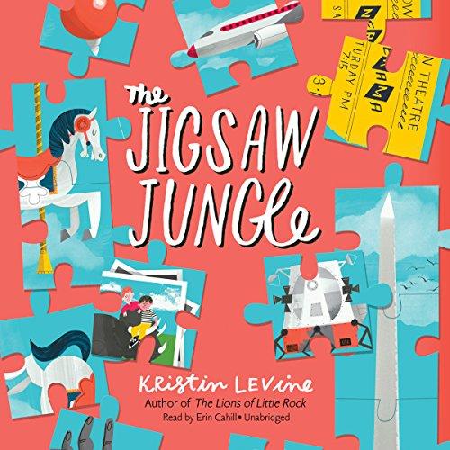 The Jigsaw Jungle audiobook cover art