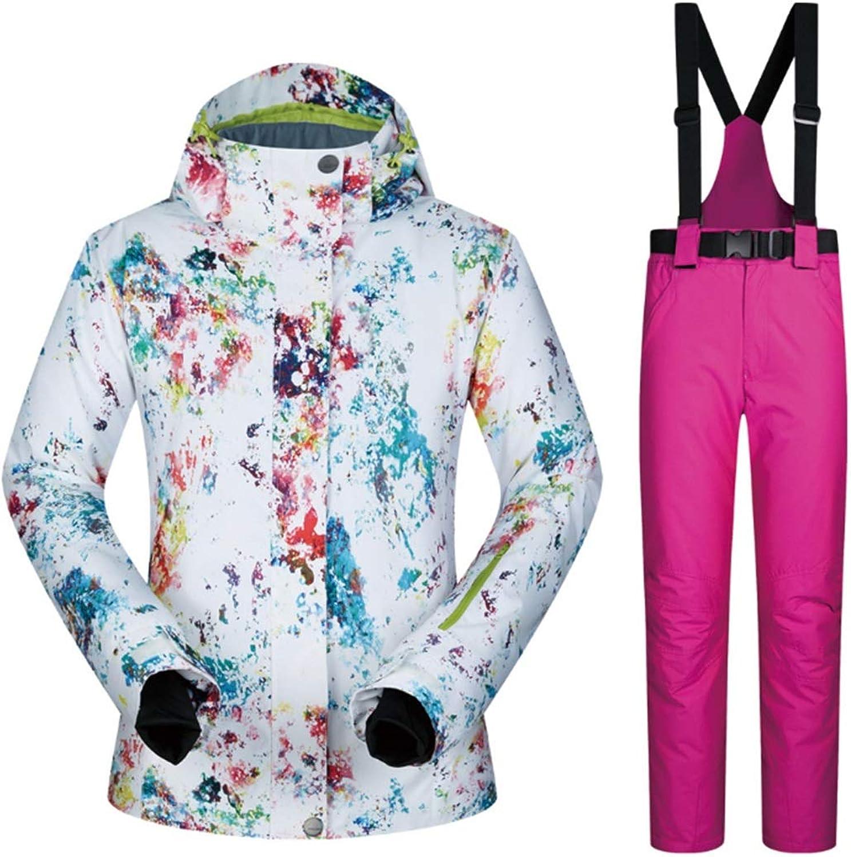 UICICI Women's Mountain Waterproof Ski Jacket for Rain Snow Outdoor Hiking