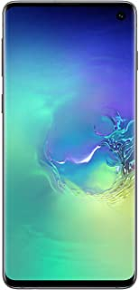 Samsung SM-G973F Galaxy S10 128GB SIM-Free Smartphone, Prism Green (Renewed)