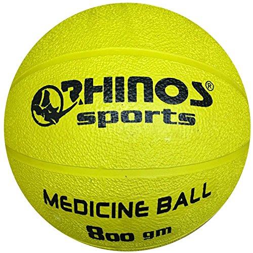 Rhinos Sports - Balón medicinal 800 g