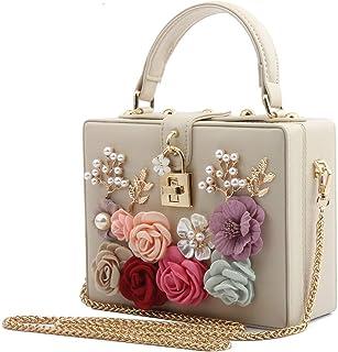 7a3ef780faa85 LETODE Women Flower Clutches Evening Bags For Wedding Party Handbag Purse