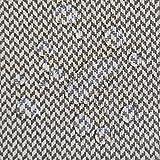 Stoff Meterware Baumwolle beschichtet grau natur Fischgrat