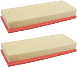 NewYall Pack of 2 Engine Air Filter Panel