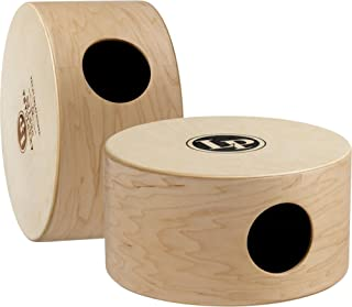 "LP Latin Percussion LP Americana 2-Voice Cajon 10"", Maple/Front Plate Birch Double Sided, (1x20), DW Snare Wire, LP1410S"