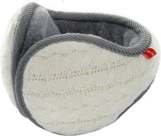 Unisex Winter Earmuffs Knit Ear Warmers for Women Foldable