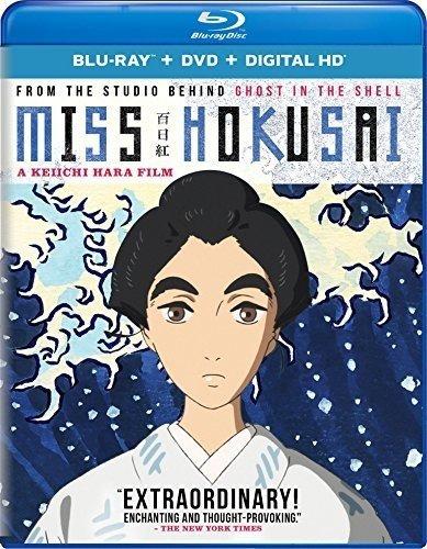 Miss Hokusai Blu-ray + DVD + Digital