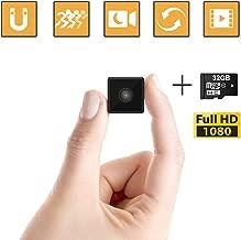 Mini Spy Camera Wireless Hidden, ehomful 1080P Full HD Cop Spy Cam Body Camera, Security..