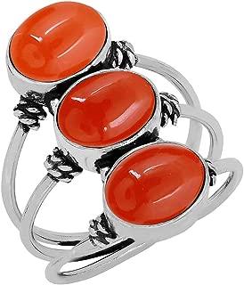Best carnelian stone ring Reviews
