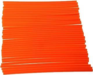 H HILABEE 36 Stü Universal Motocross Felgen Speichen Wraps Skins Cover   Orange