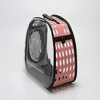MAOSHE Pet Bag, Portable Travel Pet Bag Outdoor Puppy Dog Cat Carrier Bags Shoulder Package Handbag Foldable Material Soft...