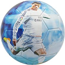 Superstar Soccer Ball FIFA Size 5 Best Gift for Soccer Training | Cristiano Ronaldo Portugal Juventus CR7 | Leo Messi Barcelona