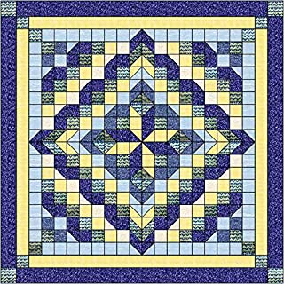 Quilt Kit Faceted Star French Country/Precut Ready to Sew/Queen