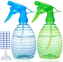 Spray Bottles for Cleaning Solutions - 16 oz Plastic Empty Spray Bottle for Hair - BPA Free Material - Spray Bottle for Pl...