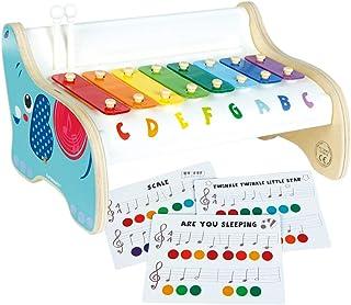 comprar comparacion WOOMAX- Xilófono con partituras (Colorbaby 46256)
