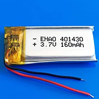 $24 » Rechargeable Lithium Battery401430 3.7V 160Mah Lithium Polymer Rechargeable Lipo Battery for Mp3 Mp4 GPS Bluetooth Headset...