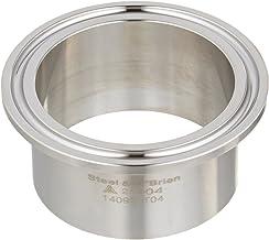 Steel and Obrien AAM02500i-304 Stainless Steel L14AM7 Butt Welding Ferrule 2-1//2 x 1-1//8 OAL 2-1//2 x 1-1//8 OAL