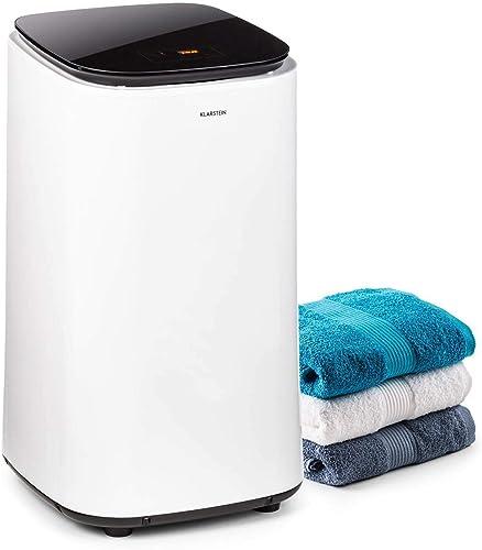 KLARSTEIN Zap Dry - Sèche-Linge, 820 W, capacité: 50 L, Design UniqueDry, Compact, Tambour en INOX, boîtier en Plasti...