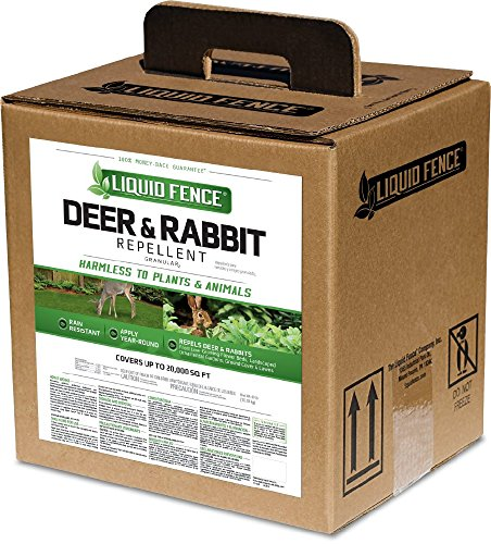 Liquid Fence Deer and Rabbit Repellent Granular, 40-Pound