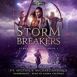 Storm Breakers: Age of Magic audiobook cover art