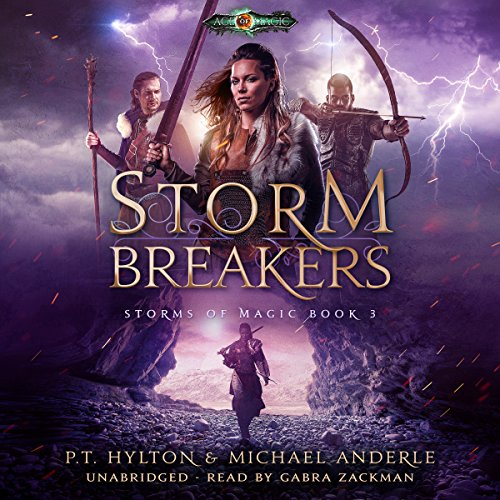 Storm Breakers: Age of Magic audiobook cover art