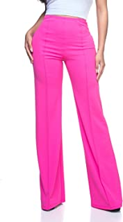 hot pink dress pants