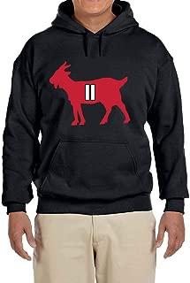 Tobin Clothing Black Atlanta Julio Goat Hooded Sweatshirt