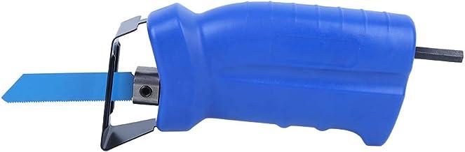 Taladro eléctrico Accesorio de herramienta modificado Hoja de sierra alternativa Hoja de adaptador de sierra alternativa portátil Hoja de corte de metal Herramientas manuales para trabajar